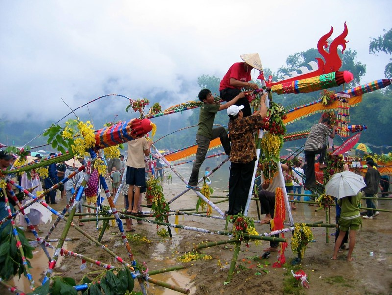 Rocket festival in Laos