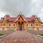 Pha That temple in Vientiane